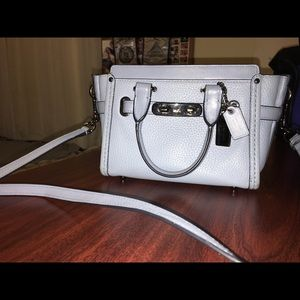 Coach Swagger 21 Light Blue
